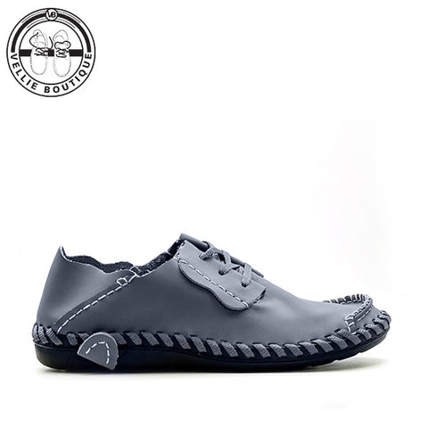 Wys Jou Staal (Grey) sizes 7,8,9½,12 and 13½ - Vellie Boutique