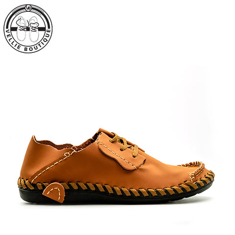 Y-Wys Jou Staal (Light Brown) size 5,7,12,13½,14 - Vellie Boutique