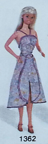 Barbie Fashion Collectibles:  #1362