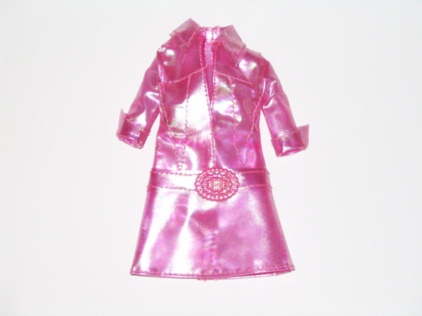 Genuine Barbie:  Cut 'n Style Pink Dress (2002)