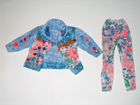 Genuine Barbie:  Paint 'N Dazzle Barbie Jacket & Pants (1993)