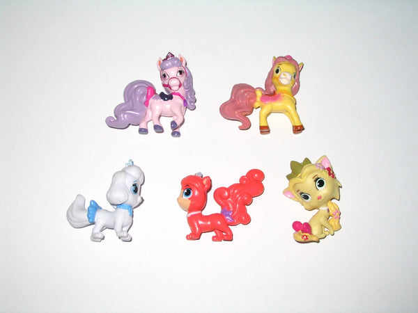 Lot of 5:  Disney Princess Palace Pets (Blind Bag)