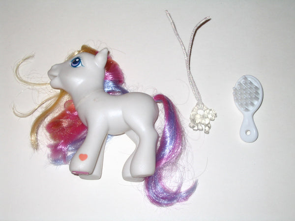 G3 My Little Pony:  3rd Edition Sunny Daze with Brush and Charm (2004)