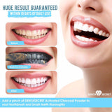 Charcoal Teeth Whitening Powder + Bonus Charcoal Toothbrush ( Web Checkout )