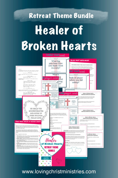 Healer of Broken Hearts Theme Upgrade Bundle (25 Pages)