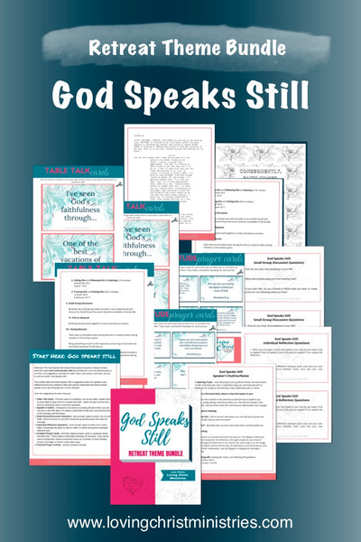 God Speaks Still Theme Upgrade Bundle (26 Pages)