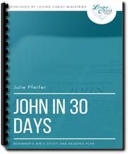 Load image into Gallery viewer, John in 30 Days: Beginner's Bible Study and Reading Plan