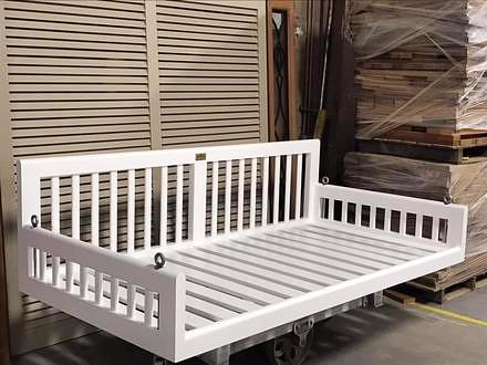 Original Charleston Bedswing in Painted White