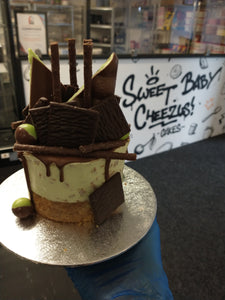 "4"" Mint Choc Chip 'Sharer' Cheesecake"