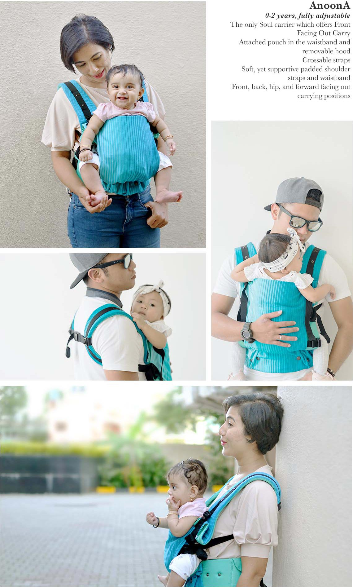 Soul baby carriers-AnoonA