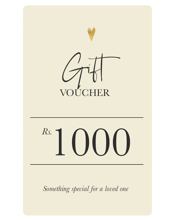 Soul Gift Voucher - Rs.1000