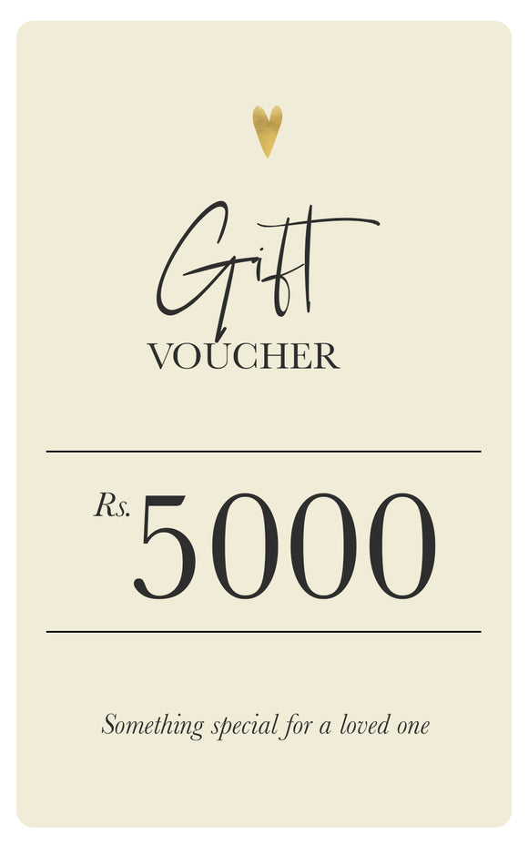 Soul Gift Voucher - Rs.5000
