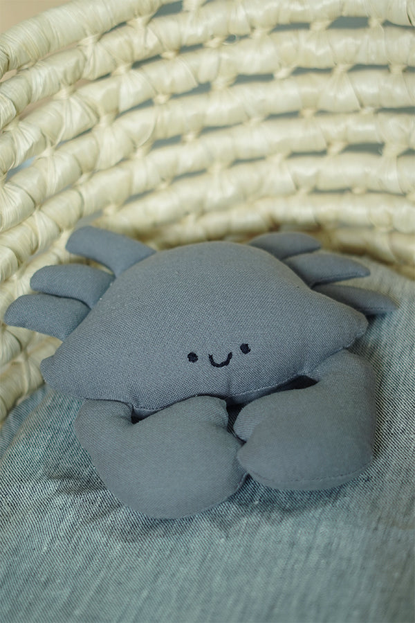 Upcycled Soft Toy: Crab