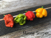 Load image into Gallery viewer, Scorpion Moruga Red (Pepper Seeds)