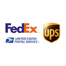 PeakPTT Ships via Fedex, UPS and USPS