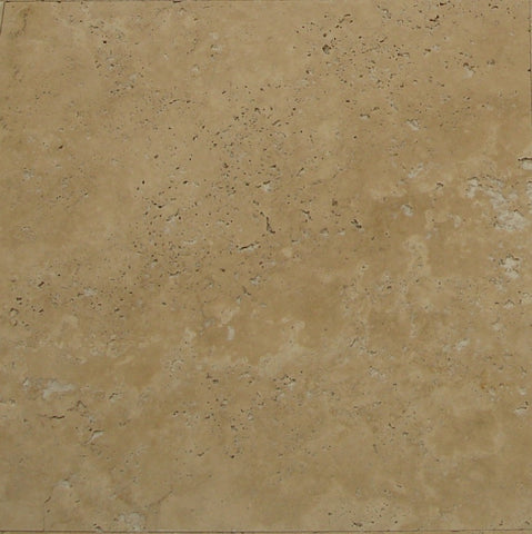 Travertino Chiaro Light Brushed Antiqued Unfilled