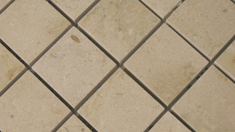 Crema Imperial Polished Mosaics