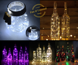Great Value - 10 Corks with LED Light Strings