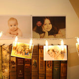 Photos and Memories LED Clip Lights
