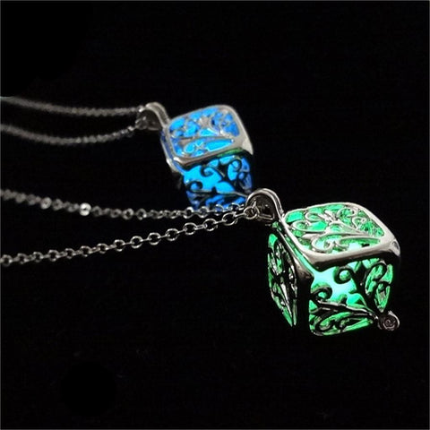 Luminous Tree Necklaces