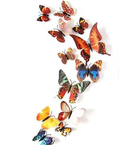 Fairy Butterflies 3D Wall Decals