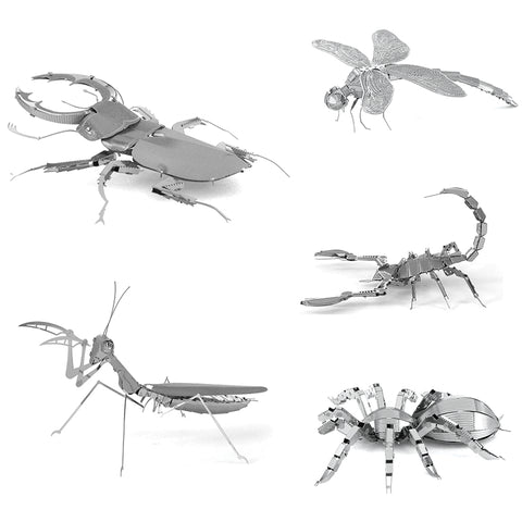 Insects 3D Metal Puzzle