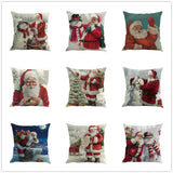 Merry Christmas Festival Pillow Cover