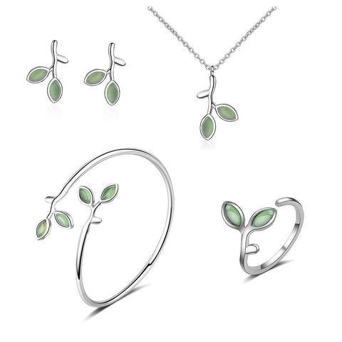 Green Opal - Jewelry Set