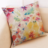 "Beautiful Spring Soft Linen Pillowcase 18"" x 18"""
