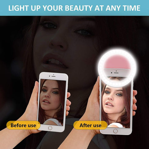 New and Improved - Luna Bright Selfie Light