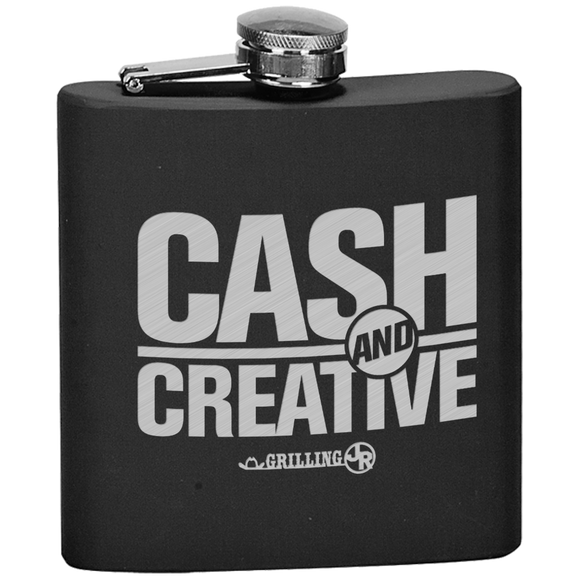 Cash and Creative Flask