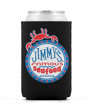Jimmy's Famous Seafood Coozie Can Sleeve