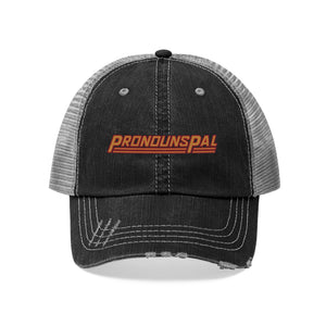 Pronouns Pal Unisex Trucker Hat