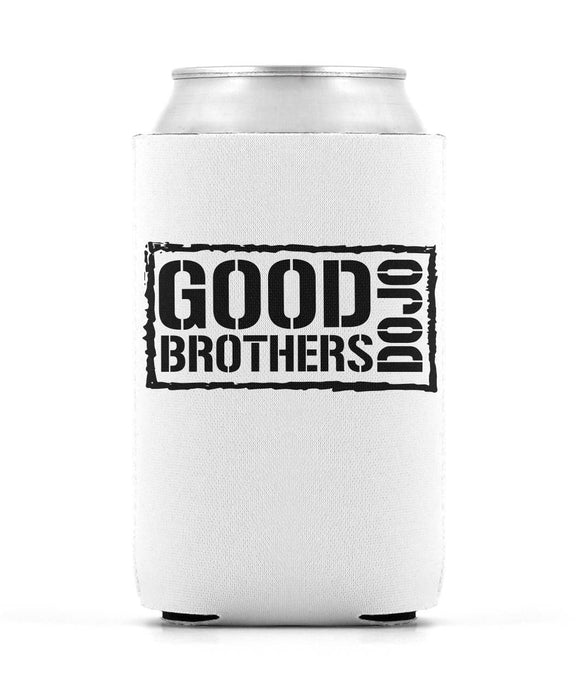 Good Brothers Dojo White Can Coozie