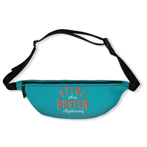 Spine Buster Arn Anderson Fanny Pack (Teal)
