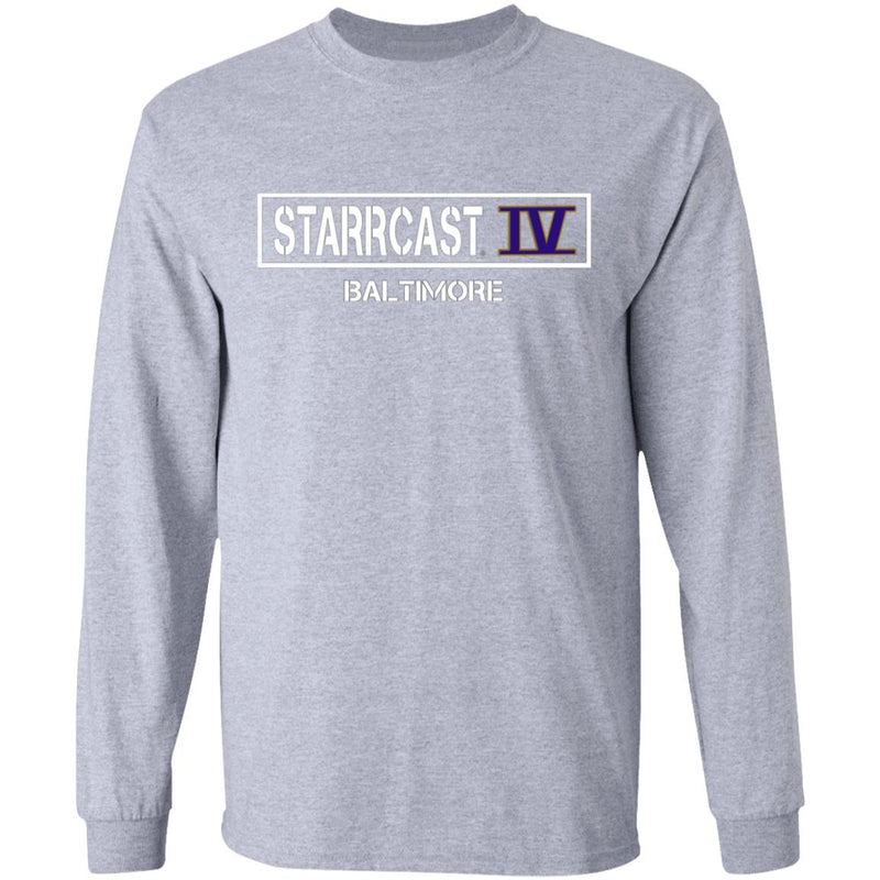 Starrcast IV Long Sleeve Cotton T-Shirt