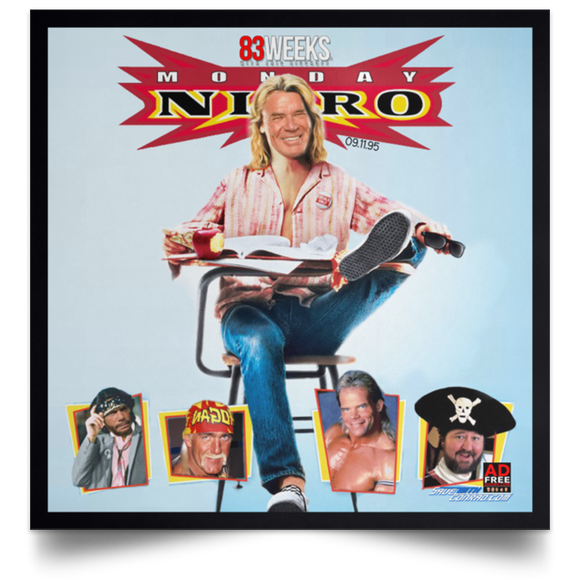 Nitro 2nd Show Satin Square Poster