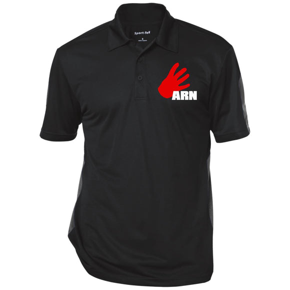 ARN Performance Textured Three-Button Polo
