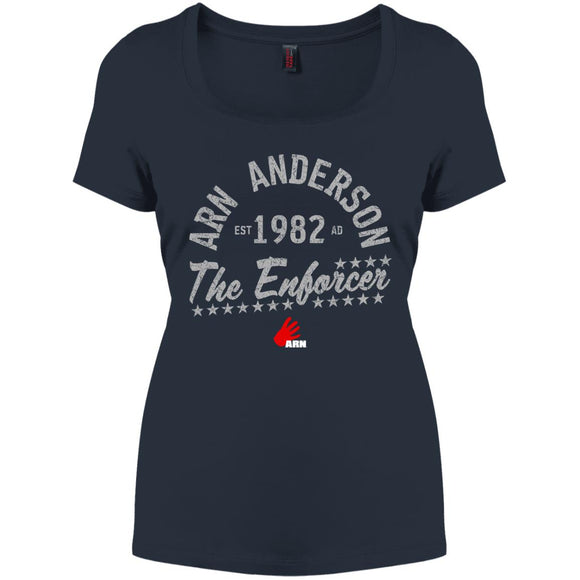 The Enforcer Perfect Scoop Neck Tee