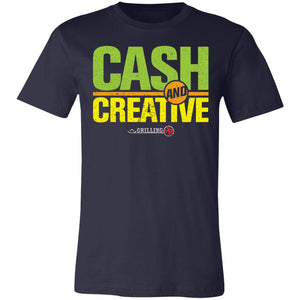 Cash & Creative Super Soft Jersey T-Shirt