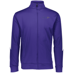 WHW Augusta Performance Colorblock Full Zip