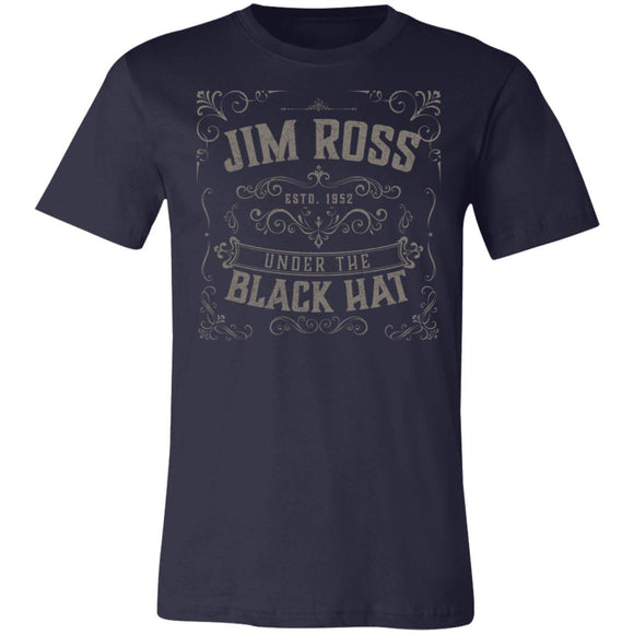 Under Black Hat Super Soft Jersey T-Shirt