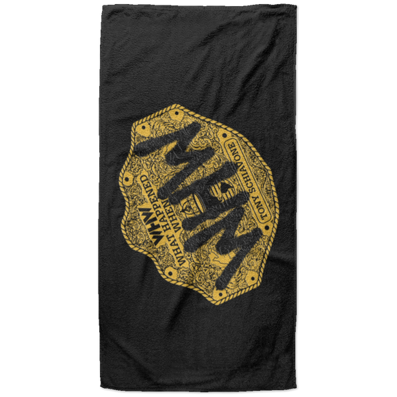 Big Gold -  Beach Towel - 37x74