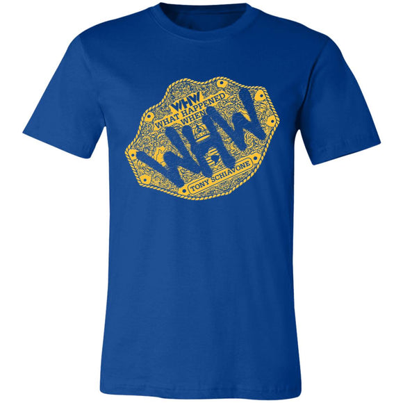 WHW Big Gold Super Soft Jersey T-Shirt