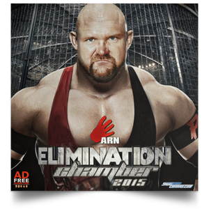 Elimination Chamber '15 Satin Square Poster