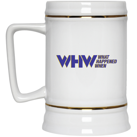 WHW Beer Stein 22oz.