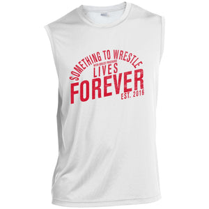 STW Lives Forever (Red) Sleeveless Performance T-Shirt
