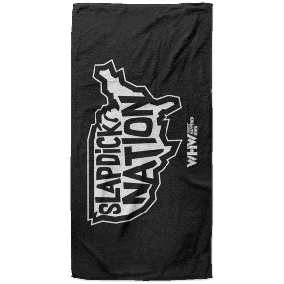 Slapdick Nation -  Beach Towel - 37x74