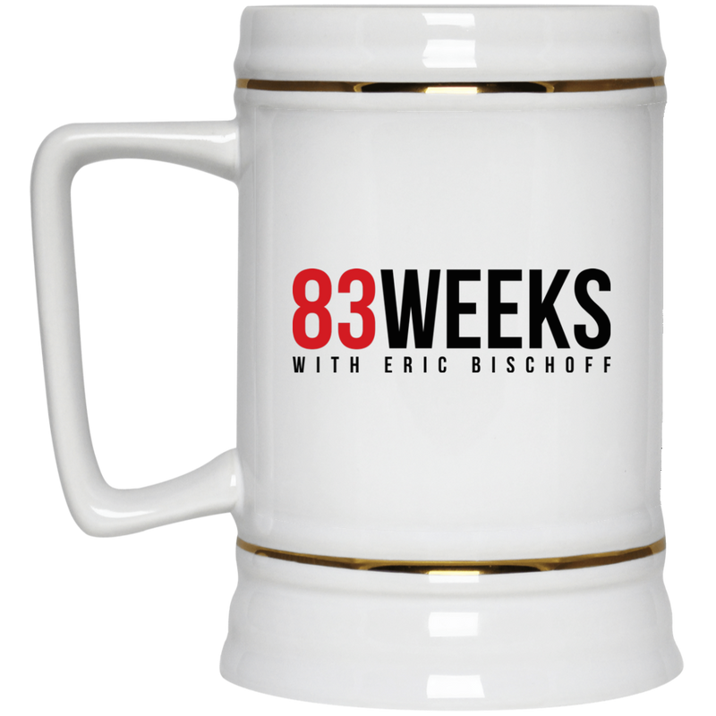 83 Weeks Beer Stein 22oz.