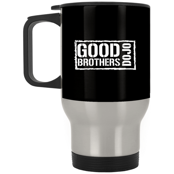 Good Brothers Dojo Silver Stainless Travel Mug